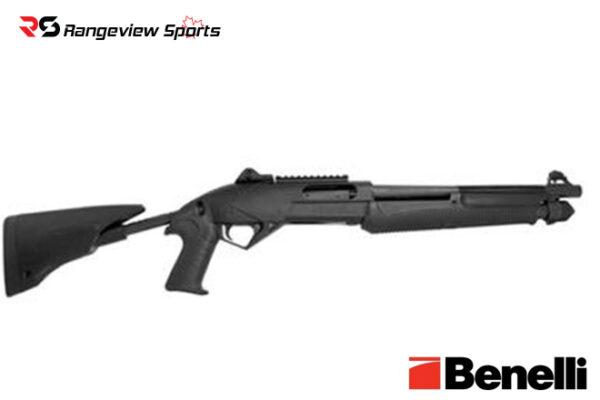 Benelli Super Nova Tactical Shotgun, Telescoping Stock 3 1:2″ 12 Ga 14.5″ Barrel Rangeviewsports Canada