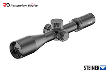 Steiner M7Xi Rifle Scope, 4-28x56mm FFP MSR2 Blackrangeviewsports canada