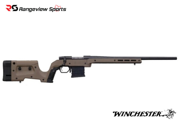 Weatherby Vanguard Bolt Action Rifle with MDT Chassis, 6.5 Creedmoor FDE Rangeviewsports Canada
