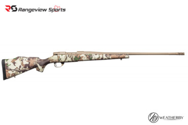 Weatherby Vanguard First Lite Blot Action Rifle, 6.5 Creedmoor Camo rangeviewsports canada
