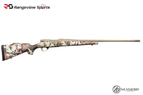 Weatherby Vanguard First Lite Blot Action Rifle, 6.5 Creedmoor Camo rangeviewsports canada