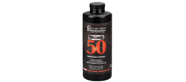 Alliant Reloder 50 Powder – 1LB rangeviewsports canada