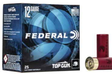 Federal Top Gun Target Load, 12 Ga 2 3/4″ #8 Shot 1 1/8oz 1145FPS – 25Rds