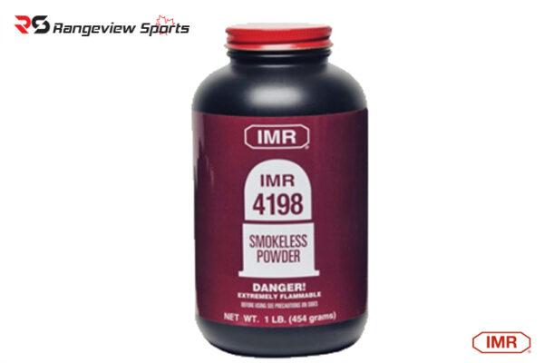 IMR 4198 Powder – 1LB rangeviewsports canada