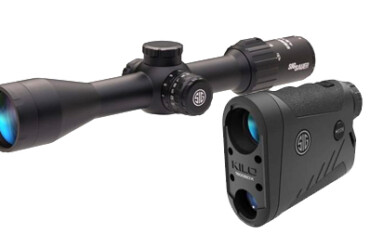 Sig Sauer, Kilo 1400BDX, Sierra 3BDX, 6x20mm LRF, 3.5-10x42mm Riflescope Combo, (SOK14BDX01)