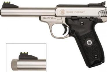 Smith & Wesson SW22 Victory Threaded Barrel .22LR rangeviewsports canada