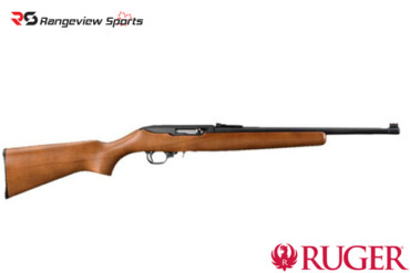 Ruger 10:22 Compact .22LR 16.5″ BRL Wood Rangeviewsports Canada