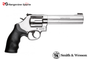 Smith & Wesson 686 Distinguished Combat Magnum Revolver .357 Magnum, 6″ Barrel, Stainless Rangeviewsports Canada