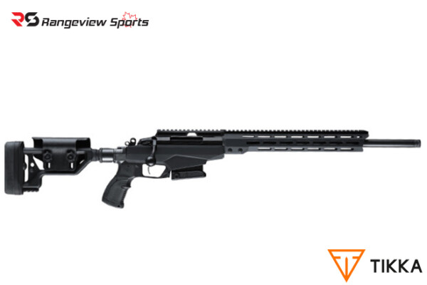 Tikka T3x Tactical A1 Rifle, Black Rangeviewsports Canada