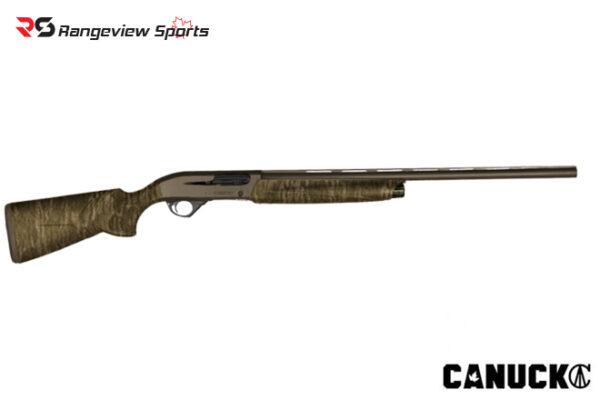 Canuck Integra NGS Semi-auto Shotgun – 12GA, Mossy Oak Bottomlands rangeviewsports canada