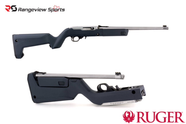 Ruger 10:22 Takedown Stainless with Magpul X-22 Stock, Non restricted, 4 BX-1 Magazines Rangeviewsports Canada