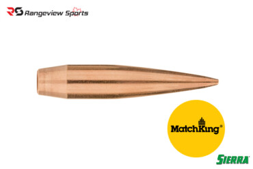 Sierra MatchKing Rifle Projectiles .30Cal, 200gr HPBT – 100 Pcs Rangeviewsports Canada