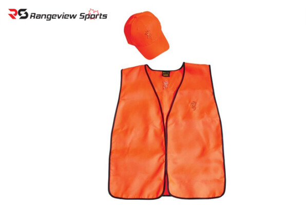 Browning Safety Hunter Combo – Cap and Vest rangeviewsports canada