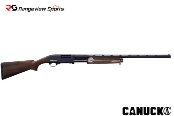 Canuck Pioneer 12GA Pump Action Shotgun Rangeviewsports Canada