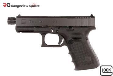 Glock G19 Gen4 MOS 9x19mm Threaded Barrel Rangeviewsports Canada