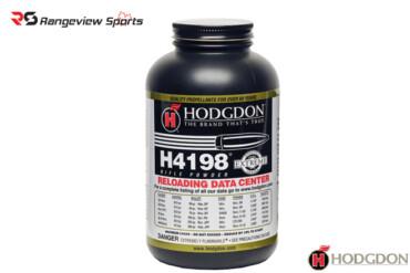 Hodgdon H4198 Smokeless Powder – 1lb Rangeviewsports Canada copy