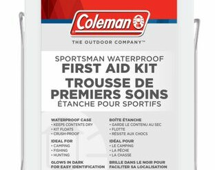 Coleman Sportsman Waterproof First Aid Kit, 118 Piece_Rangeview_Sports_Canada_Licensed_Gun_Shop_in_Newmarket_GTA_Ontario_Canada