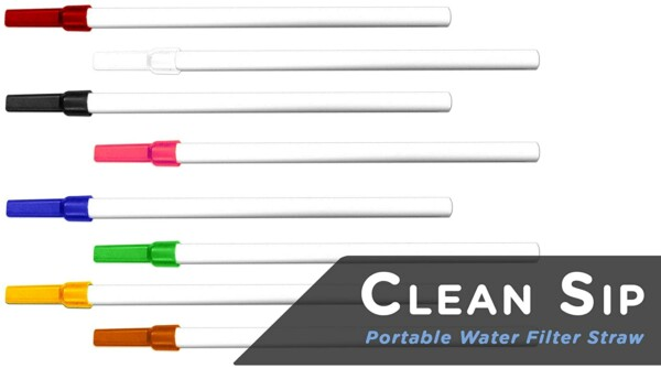 Clean Sip Water Filter Straw - The Worlds Smallest Water Filter in a Straw_Rangeview_Sports_Canada_Licensed_Gun_Shop_in_Newmarket_GTA_Ontario_Canada