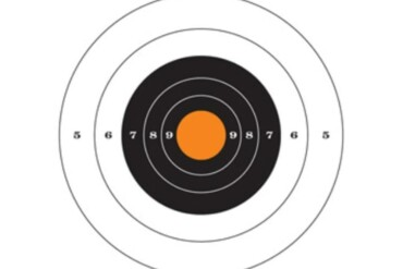 Champion Traps and Targets Re-Stick Targets 25-Yard Pistol Slowfire_Rangeview_Sports_Canada_Licensed_Gun_Shop_in_Newmarket_GTA_Ontario_Canada