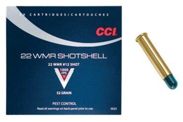 CCI_Shotshell_22_WMR_Rimfire_Ammo,_52_Gr_#12_Shot_1000_FPS_-_20_Rds_Rangeview_Sports_Canada_Licensed_Gun_Store_in_Newmarket_GTA_Ontario_Canada