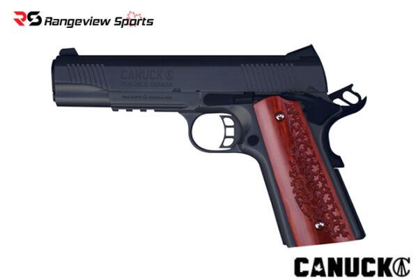 Canuck 1911 9mm Pistol 5.25″ Barrel Blued Rangeviewsports Canada
