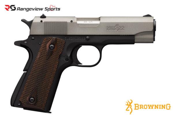 Browning 1911-22 A1 Pistol, 22 LR Gray -rangeviewsports-canada