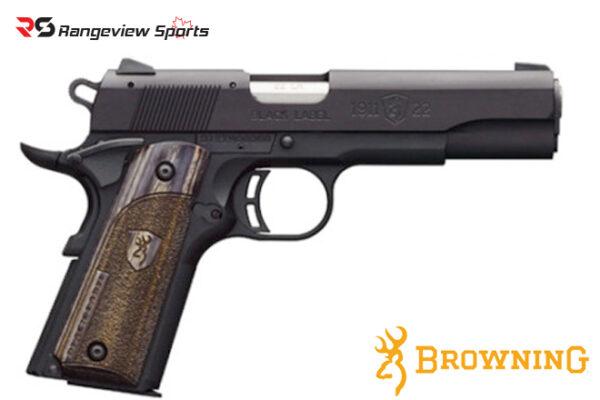Browning 1911-22 Black Label Pistol, 22 LR Rangeviewsports Canada
