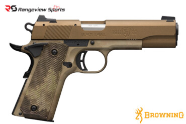 Browning 1911-22 Black Label Speed Pistol, 22 LR -rangeviewsports-canada