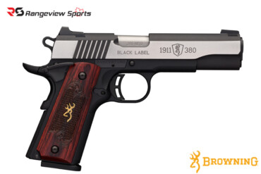 Browning 1911-380 Black Label Medallion Pro Pistol, 380 ACP -rangeviewsports-canada