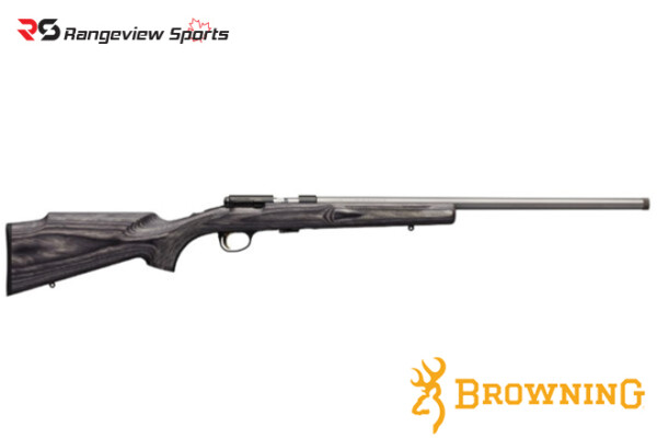 Browning T-Bolt Gray Laminated Target:Varmint Stainless Rifle Rangeviewsports Canada
