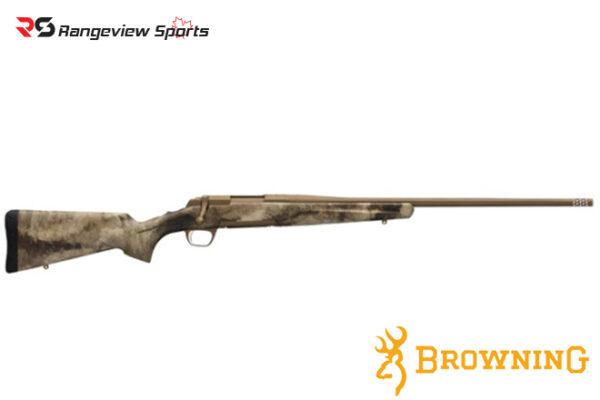 Browning X-Bolt Hell's Canyon Speed A-TACS AU Camo Rifle Rangeviewsports Canada