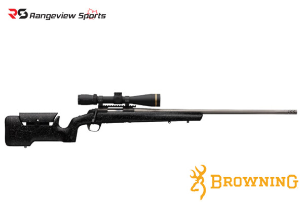 Browning X-Bolt Max Long Range Rifle, Stainless Steel Rangeviewsports Canada