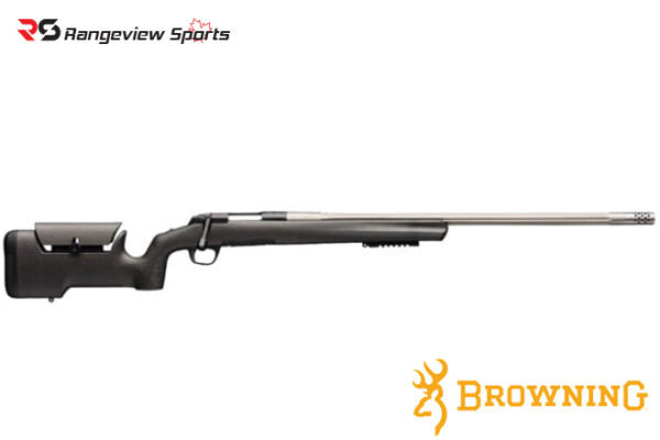 Browning X-Bolt Max Varmint:Target Rifle, Stainless Steel Rangeviewsports Canada