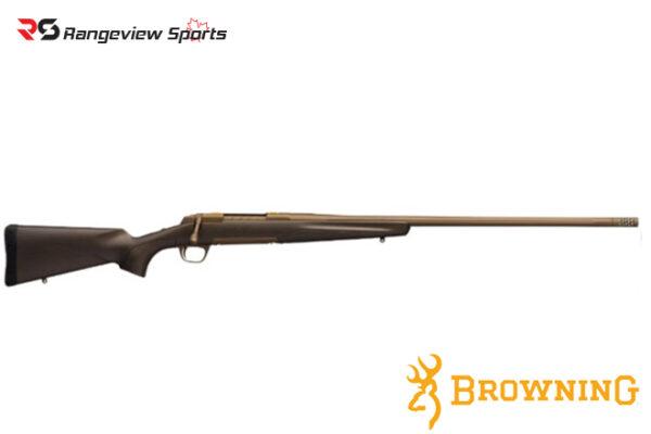 Browning X-Bolt Pro Long Range Burnt Bronze Rifle, Stainless Barrel Rangeviewsports Canada