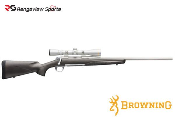 Browning X-Bolt Stainless Stalker Rifle Rangeviewsports Canada