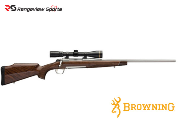 Browning X-Bolt White Gold Medallion Rifle, Stainless Barrel Rangeviewsports Canada