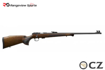 CZ 457 Premium Bolt Action 22 LR, 24″ Barrel, Walnut Stock, Non-Restricted-rangeviewsports-canada
