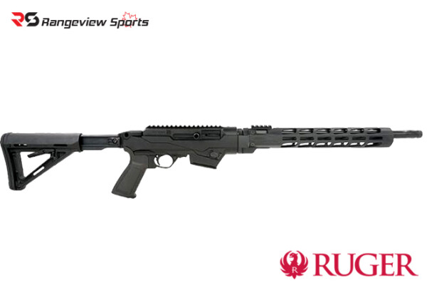 Ruger PC Carbine with Telescoping Stock and Free-Float Handguard, 9mm Takedown -rangeviewsports-canada1111