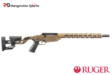 Ruger Precision Rimfire Rifle, Burnt Bronze Cerakote 22LR Bolt Action-rangeviewsports-canada