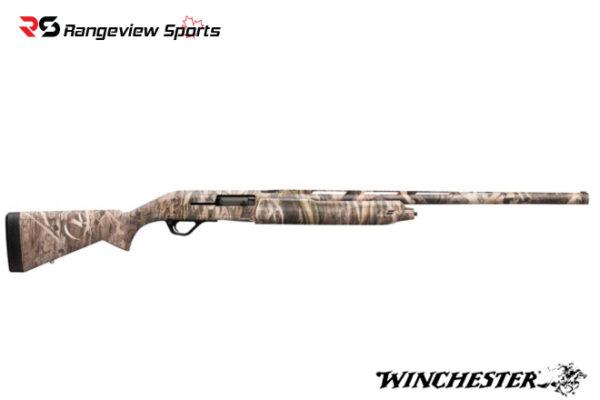 Winchester SX4 Waterfowl Hunter Shotgun, Mossy Oak Shadow Grass Habitat Rangeviewsports Canada