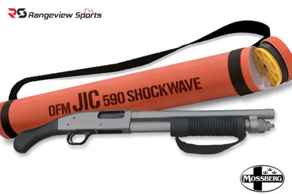 Mossberg 590 JIC Shockwave Shotgun, 12Ga with Storage Tube rangeview sports canada