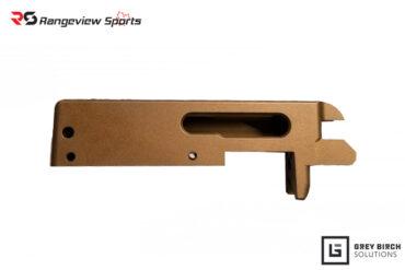 Grey Birch Shrike Red Dot Ready Receiver For Ruger 10:22 with Burnt Bronze Cerakote rangeviewsports-canada-1