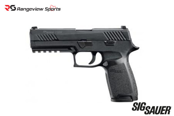 Sig Sauer P320 Nitron Pistol, 9mm Contrast Sights Rangeviewsports Canada