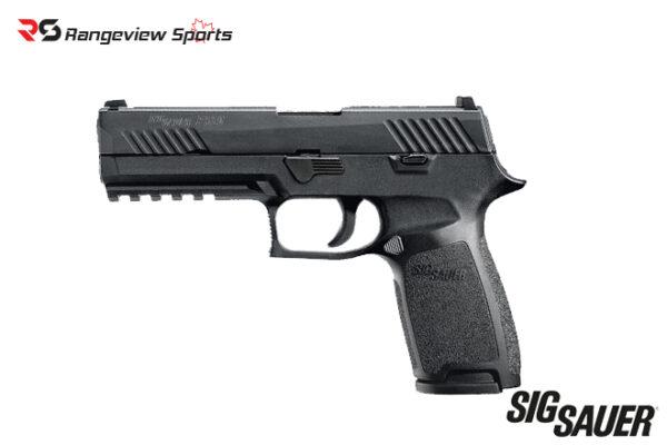 Sig Sauer P320 Nitron Pistol, 9mm Night Sights Rangeviewsports Canada-Recovered