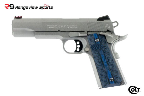 Colt Competition Series 45 Auto 5″, Stainless Steel Finish Series 70 Rangeviewsports Canada