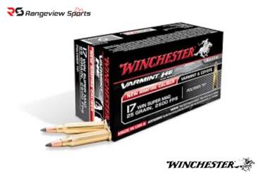 Winchester Varmint HE 17 WSM Rimfire Ammo, 25Gr Polymer Tip- 50Rds Rangeviewsports Canada