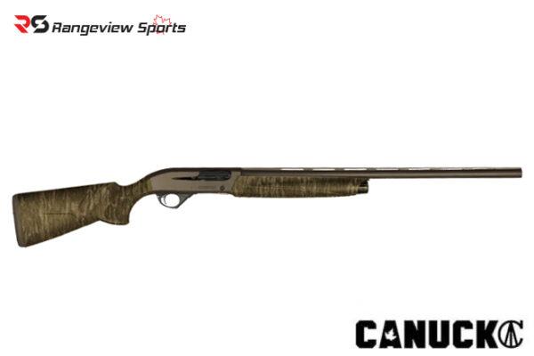 Canuck Hunter Shotgun, 3″ 12Ga 28″ Barrel Bronze Cerakote & Bottomland Camo