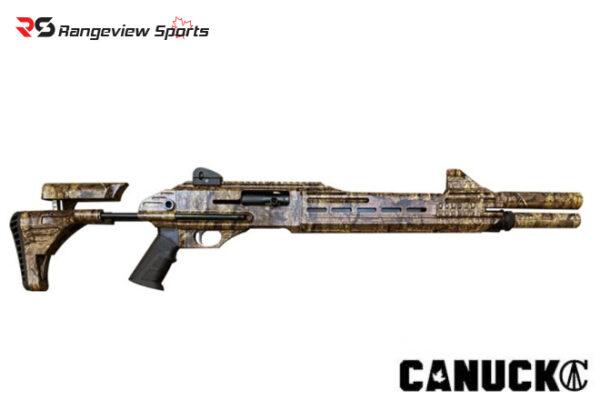 Canuck Engage 12Ga 3″ Semi Auto Shotgun with Camo Rangeviewsports Canada