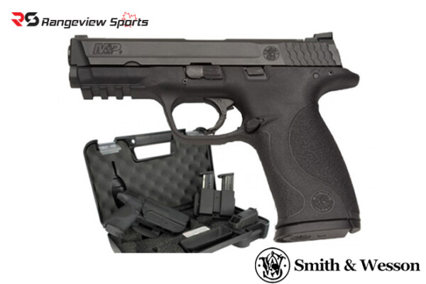 Smith & Wesson M&P9 M2.0 Pistol with Range Kit, 9mm Rangeviewsports Canada