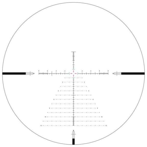 Arken SH-4 Gen 2 Rifle Scope, 6-24x50mm Illuminated VPR FFP MIL 34mm Tube